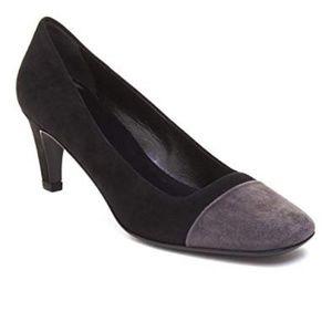 Prada Black Suede High Heel Pump 39.5